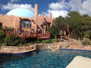 Beth in pool
